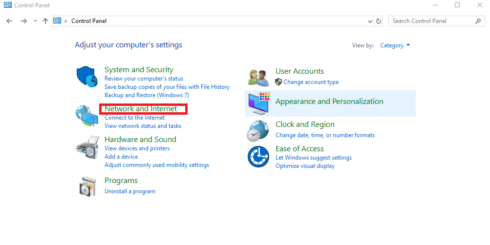 how to change windows dns